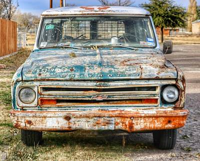 Photograph - Marfa Chevy  by Gia Marie Houck