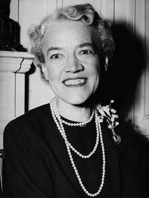 Photograph - Margaret Chase Smith by Fpg
