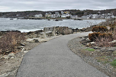 Photograph - Marginal Way Path by Luke Moore