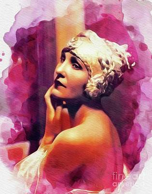 Royalty-Free and Rights-Managed Images - Maria Corda, Vintage Actress by Esoterica Art Agency