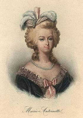 Marie Antoinette Art Print by Hulton Archive
