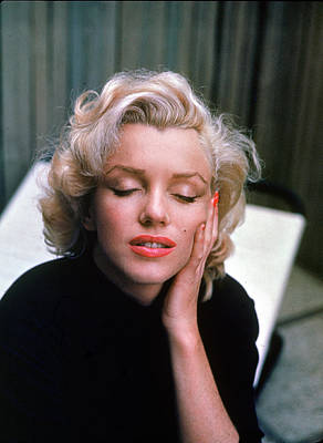 Eyes Closed Photograph - Marilyn, Eyes Closed by Alfred Eisenstaedt
