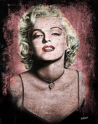 Painting - Marilyn Monroe by Andrew Read