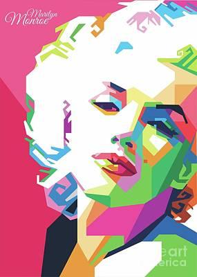 Marilyn Monroe Popart Original