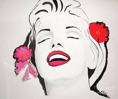 Marilyn Monroe Wall Art - Painting - Marilyn Monroe by Vesna Antic