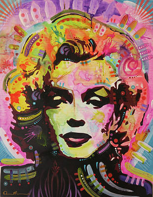 Painting - Marilyn Pop 1 by Dean Russo Art