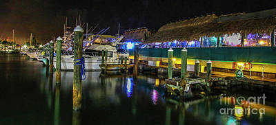 Photograph - Marina Boats And Restaurant by Tom Claud