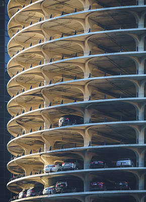 Photograph - Marina City Gold by Nisah Cheatham