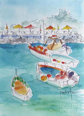 Painting - Marina Grande Sorrento Italy by Pat Katz