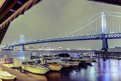Photograph - Marina Lights by Paul Watkins