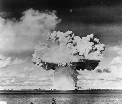 Marine Explosion Art Print by Keystone