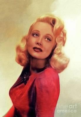 Kitchen Mark Rogan - Marion Martin, Vintage Actress by Esoterica Art Agency