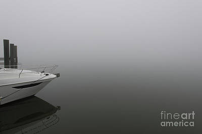 Photograph - Maritime Foggy Morning by Dale Powell