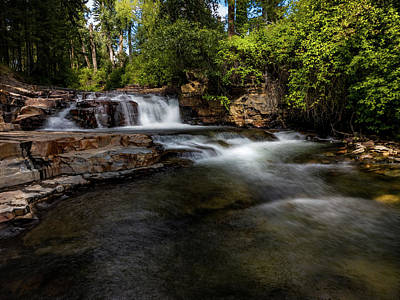 Photograph - Mark Creek by Thomas Nay