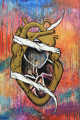 Painting - Marked By Love by Nathan Rhoads
