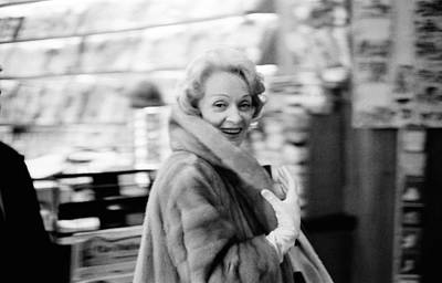 Photograph - Marlene Dietrich In Paris by Giancarlo Botti