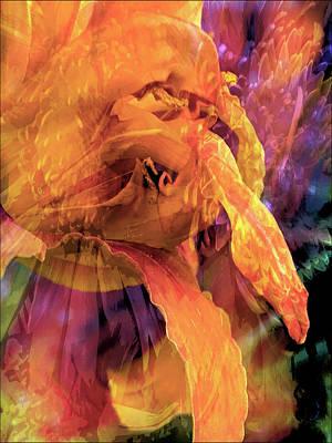 Cindy Digital Art - Marmalade Bloom by Cindy Greenstein