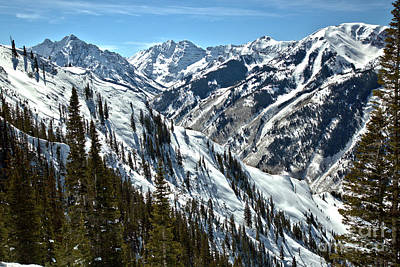Photograph - Maroon Bells Canyon Views by Adam Jewell