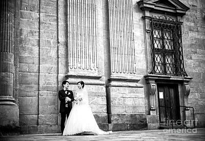 Photograph - Married At The Complesso Di San Firenze by John Rizzuto