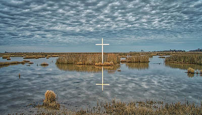 Photograph - Marsh Cross by Jerry Gammon