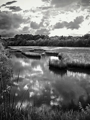 Photograph - Marsh Pond In Later Afternoon Light by Joseph Shields