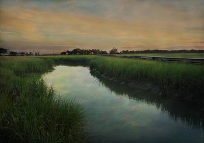Photograph - Marsh Scene, Charleston, S.c by John Grant
