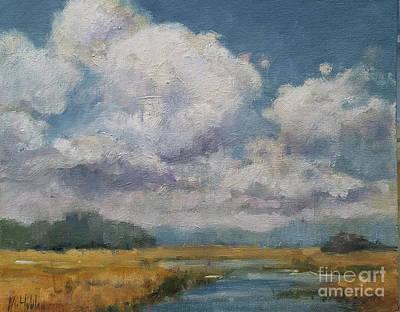 Painting - Marsh Sky by Mary Hubley