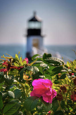 Photograph - Marshall Point Lighthouse - Maine by Joann Vitali
