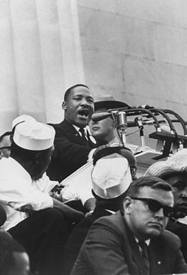 Photograph - Martin Luther King Jr by Francis Miller