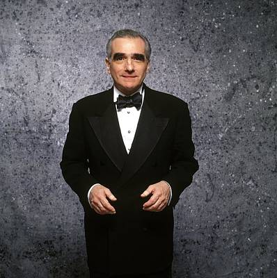 Photograph - Martin Scorcese At Cannes Film Festival by Bernard Richebe