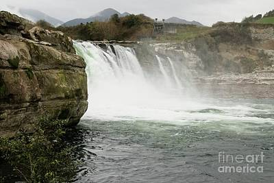 Photograph - Maruia Falls by Fran Woods