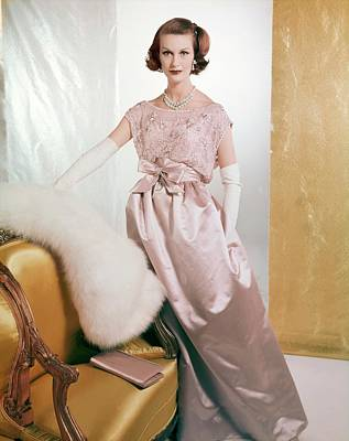 Photograph - Mary Jane Russell In Leslie Morris by Henry Clarke