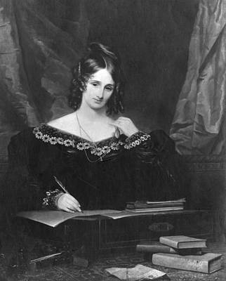 Mary Shelley Art Print by Hulton Archive
