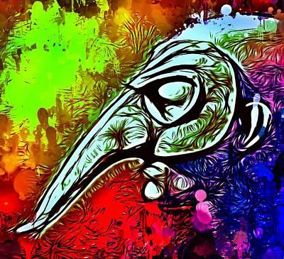 Mixed Media - Mask 4 by Matra Art
