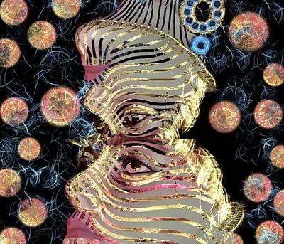 Mask My Minds Eye Art Print