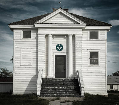 Photograph - Masonic Hall by Bud Simpson
