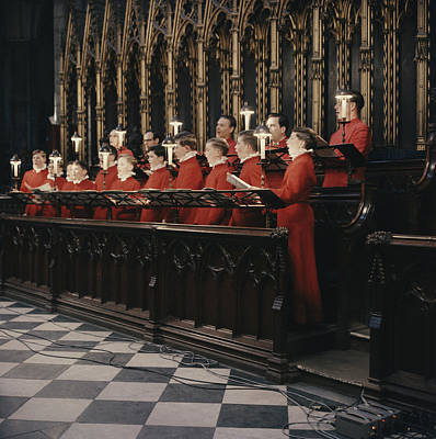 Photograph - Mass For Four Voices by Erich Auerbach