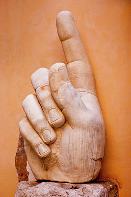 Photograph - Massive Body Parts From Statue Of by Danita Delimont