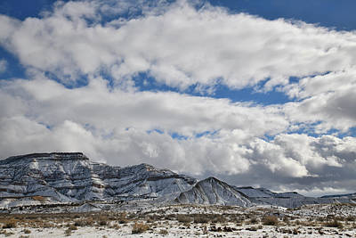 Photograph - Massive Cloud Banks Over Book Cliffs by Ray Mathis