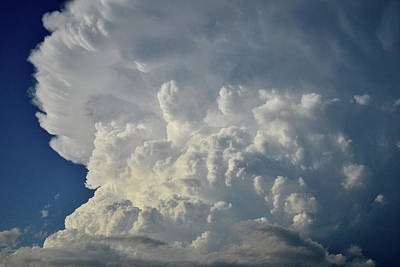 Photograph - Massive Passing Storm Over Nebraska by Ray Mathis