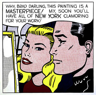 Photograph - Masterpiece By Roy Lichtenstein by Doc Braham - In Tribute to Roy Lichtenstein