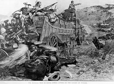 Matabele War Art Print by Hulton Archive