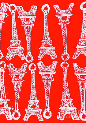 Eiffel Tower Photograph - Match Made In Paris by Jorgo Photography - Wall Art Gallery
