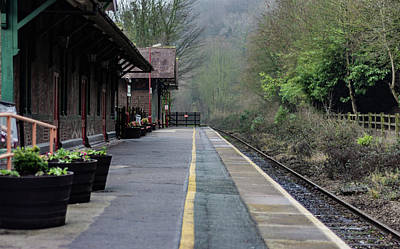 Photograph - Matlock Bath Train Station by Scott Lyons