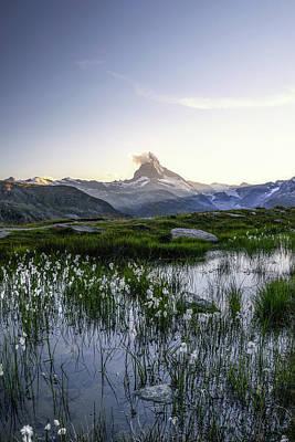 Photograph - Matterhorn by Nedjat Nuhi