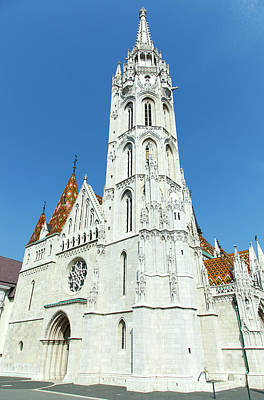Photograph - Matthias Church  by Ramunas Bruzas