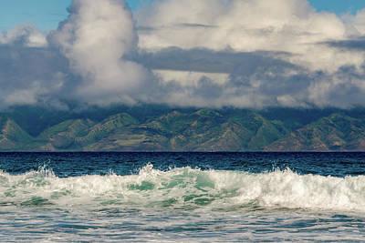Photograph - Maui Breakers II by Jeff Phillippi