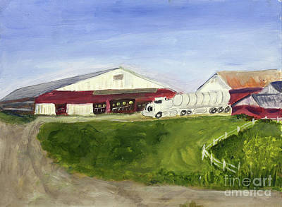 Painting - Maxwell Farm In Coventry by Donna Walsh