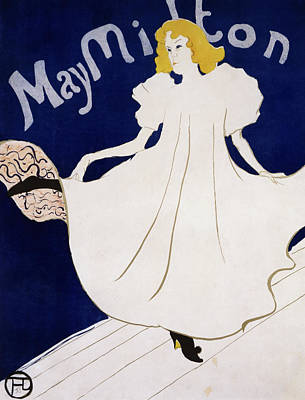 Painting - May Milton By Henri De Toulouse-lautrec by Peter Harholdt