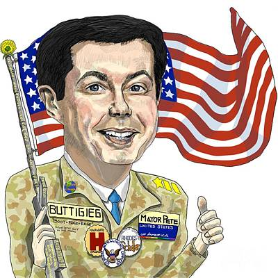 Target Threshold Nature Royalty Free Images - Mayor Pete for President Royalty-Free Image by Robert Yaeger